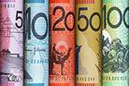 Aussie settles lower versus greenback in Asia