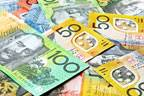 Aussie heaves up to near four-week high